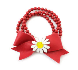 Bracelet Daisy red