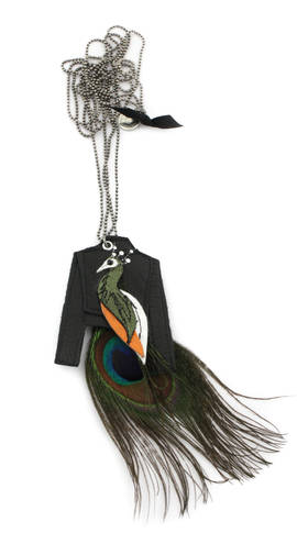 Necklace Peacock Jacket